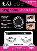 Voňavky, Parfémy, kozmetika Sada - Magnetic Lash & Liner 110 Lash Kit (eye/liner/2g + lashes/2pc)