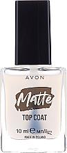 Voňavky, Parfémy, kozmetika Matný vrchný lak - Avon Matte Top Coat