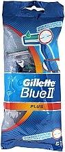 Voňavky, Parfémy, kozmetika Sada jednorazové holiace stroje,5ks - Gillette Blue II Plus