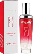 Voňavky, Parfémy, kozmetika Spevňujúce tonikum na tvár s ceramidmi - FarmStay Ceramide Firming Facial Toner