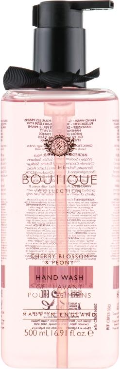 "Tekuté mydlo na ruky ""Kvet čerešne a pivónka"" - Grace Cole Boutique Cherry Blossom and Peony Hand Wash"