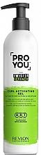 Voňavky, Parfémy, kozmetika Aktivátor kučier - Revlon Professional Pro You The Twister Scrunch Curl Activator Gel
