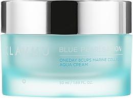 Voňavky, Parfémy, kozmetika Krém na tvár s morským kolagénom - Klavuu Blue Pearlsation One Day 8 Cups Marine Collagen Aqua Cream