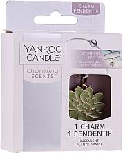 Voňavky, Parfémy, kozmetika Ozdobný prívesok do auta - Yankee Candle Succulent Charming Scents Charm