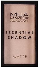 Voňavky, Parfémy, kozmetika Očný tieň - MUA Essential Shadow Matte