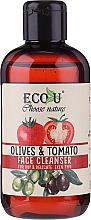 """Voňavky, Parfémy, kozmetika Gél na umývanie """"Paradajky a olivy"""" - Eco U Face Cleanser"""