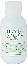 Voňavky, Parfémy, kozmetika Hydratačný krém na tvár - Mario Badescu Revitalin Moisturizer