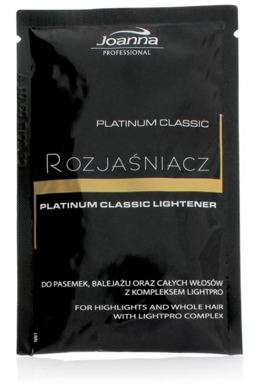 Zosvetľovač na vlasy - Joanna Professional Platinum Classic Lightener (sashet)