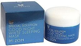 Voňavky, Parfémy, kozmetika Nočná rozjasňujúca maska na tvár - Mizon Good Night White Sleeping Mask