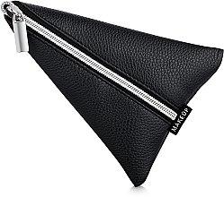 """Voňavky, Parfémy, kozmetika Púzdro na kozmetické náradie, čierne """"Manicure triangle"""" - MakeUp"""