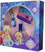 Voňavky, Parfémy, kozmetika Air-Val International Disney Frozen - Sada (edt/30ml + key/ring + 2/bracelets)