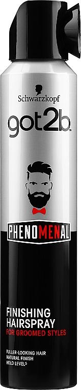 Lak na vlasy - Schwarzkopf Got2b Phenomenal Finishing Hairspray