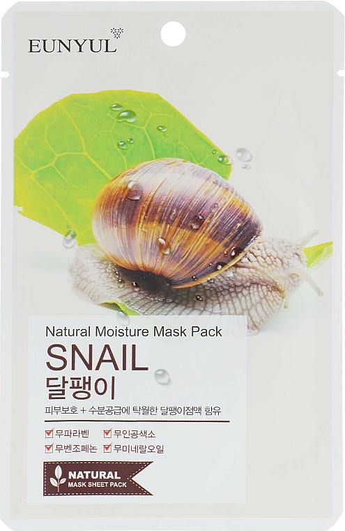 Textilná maska so slimačím mucínom - Eunyul Natural Moisture Mask Pack
