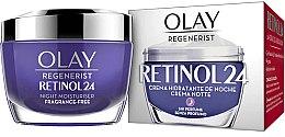Voňavky, Parfémy, kozmetika Hydratačný nočný krém - Olay Regenerist Retinol24 Cream Night Moisturiser