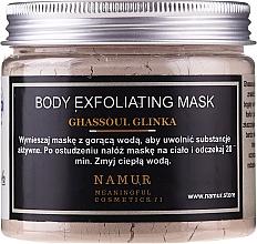 Voňavky, Parfémy, kozmetika Maska na telo s hlinou Ghassoul - Namur Body Exfoliating Ghassoul Clay