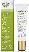 Voňavky, Parfémy, kozmetika Krém-kontúry pre očné okolie - SesDerma Laboratories Factor G Renew Eye Contour