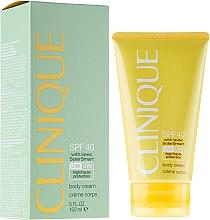 Voňavky, Parfémy, kozmetika Krém na telo opaľovací krém SPF40 - Clinique Body Cream