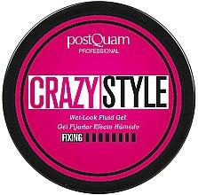 Voňavky, Parfémy, kozmetika Fixačný gél s efektom morkých vlasov - PostQuam Extraordinhair Crazy Style Wet Look Fluid Gel