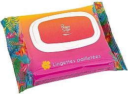 Voňavky, Parfémy, kozmetika Utierky na tvár a telo s trblietkami - Peggy Sage Glitter Wipes