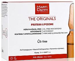Voňavky, Parfémy, kozmetika Ampulky na tvár - Martiderm Liposomes Ampoules Moisturizing and Firming