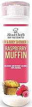 Voňavky, Parfémy, kozmetika Gél na vlasy a telo - Hristina Stani Chef's Hair And Body Shower Gel Raspberry Muffin