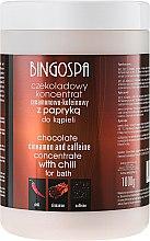 """Voňavky, Parfémy, kozmetika Čokoládový koncentrát na kúpeľ """"Škorica a kofeín"""" - BingoSpa Chocolate Cinnamon and Coffeine Concentrate For Bath"""