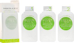 """Voňavky, Parfémy, kozmetika SPA-starostlivosť o nechty a pokožku rúk """"Zelený čaj"""" - Voesh Mani In A Box Green Tea"""