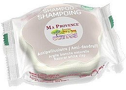 """Voňavky, Parfémy, kozmetika Tuhý biošampón proti lupinám """"Biela hlina"""" - Ma Provence Shampoo"""