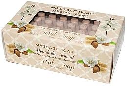 """Voňavky, Parfémy, kozmetika Mydlo-peeling pre masáž """"Mandľový"""" - Gori 1919 Massage Scrub Soap Almond"""
