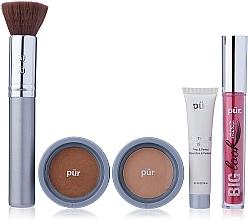 Voňavky, Parfémy, kozmetika Sada - Pur Minerals Best Sellers Starter Kit Golden Medium (primer/10ml+found/4.3g+bronzer/3.4g+mascara/5g+brush)