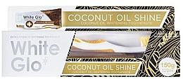 Voňavky, Parfémy, kozmetika Sada - White Glo Coconut Oil Shine (toothpaste/120ml + toothbrush)