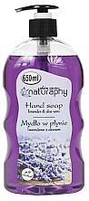 Voňavky, Parfémy, kozmetika Tekuté mydlo na ruky Levanduľa s extraktom z aloe vera - Bluxcosmetics Naturaphy Hand Soap