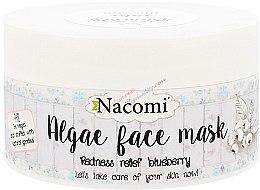 "Voňavky, Parfémy, kozmetika Alginátová maska na tvár ""Čučoriedka"" - Nacomi Professional Face Mask"