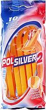 Voňavky, Parfémy, kozmetika Sada jednorazových holiacich strojčekov, 10 ks - Polsilver 2
