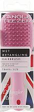 Voňavky, Parfémy, kozmetika Kefa na vlasy - Tangle Teezer The Wet Detangler Mini Baby Pink Sparkle