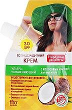 Voňavky, Parfémy, kozmetika Opaľovací krém s kokosovým olejom SPF30 - Fito Kozmetické Ľudové Recepty