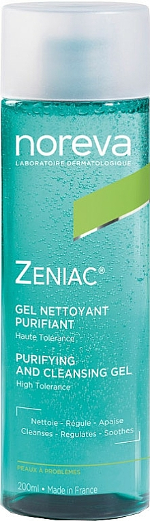 Čistiaci gél - Noreva Laboratoires Zeniac Purifying And Cleansing Gel — Obrázky N1