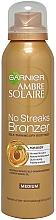 Voňavky, Parfémy, kozmetika Sprej na samoopaľovanie - Garnier Ambre Solaire No Streaks Bronzer Medium Self Tan Body Mist