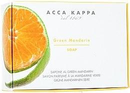 Voňavky, Parfémy, kozmetika Toaletné mydlo - Acca Kappa Green Mandarin Toilet Soap