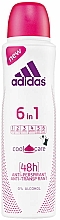 Voňavky, Parfémy, kozmetika Deodorant - Adidas Anti-Perspirant 6 in 1 Cool&Care 48h