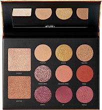 Voňavky, Parfémy, kozmetika Paleta na make-up - Milani Gilded Ember Hyper-Pigmented Eye & Face Palette