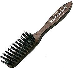 Voňavky, Parfémy, kozmetika Kefa na bradu a fúzy s rukoväťou - Man'S Beard Beard And Mustache Brush
