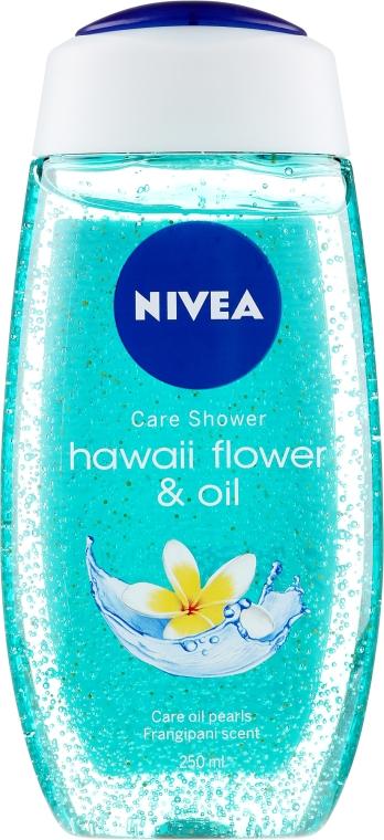 Sprchový gél-starostlivosť - Nivea Hawaii Flower & Oil Shower Gel — Obrázky N1