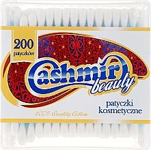Voňavky, Parfémy, kozmetika Bavlnené tyčinky v krabičke, 200 ks. - Cashmir