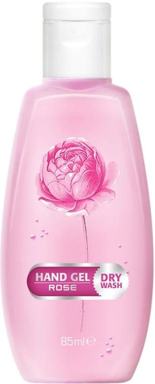 "Gél na suché čistenie rúk ""Ruža"" - Bulgarian Rose Dry Wash Rose Hand Gel"