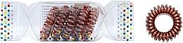 Voňavky, Parfémy, kozmetika Gumička-náramok do vlasov, bronzová - Rolling Hills 5 Traceless Hair Rings Cracker Bronze