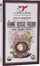 """Voňavky, Parfémy, kozmetika Prášok na vlasy """"Rosso Freddo"""" - Le Erbe di Janas Red Henna Cold Shades"""