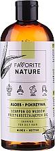 Voňavky, Parfémy, kozmetika Šampón na mastné vlasy s extraktmi z aloe a žihľavy - Favorite Nature Shampoo For Oily Hair Aloes & Nettle