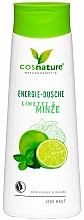 """Voňavky, Parfémy, kozmetika Energizujúci sprchový gél """"Limetka a mäta"""" - Cosnature Shower Gel Energy Mint & Lime"""