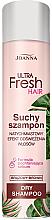 Voňavky, Parfémy, kozmetika Suchý šampón na tmavé vlasy - Joanna Ultra Fresh Hair Brown Dry Shampoo